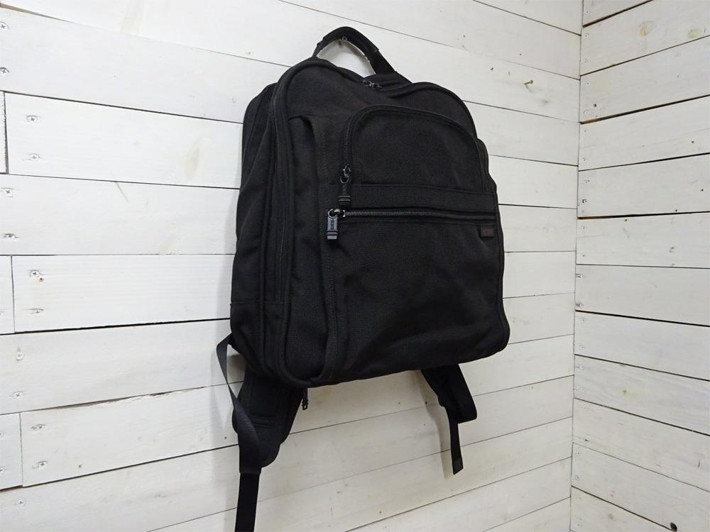 GUW55【TUMI】トゥミ/リュックサック/ビジネスバッグ/ブリーフパック/鞄/バッグ/ナイロン/黒