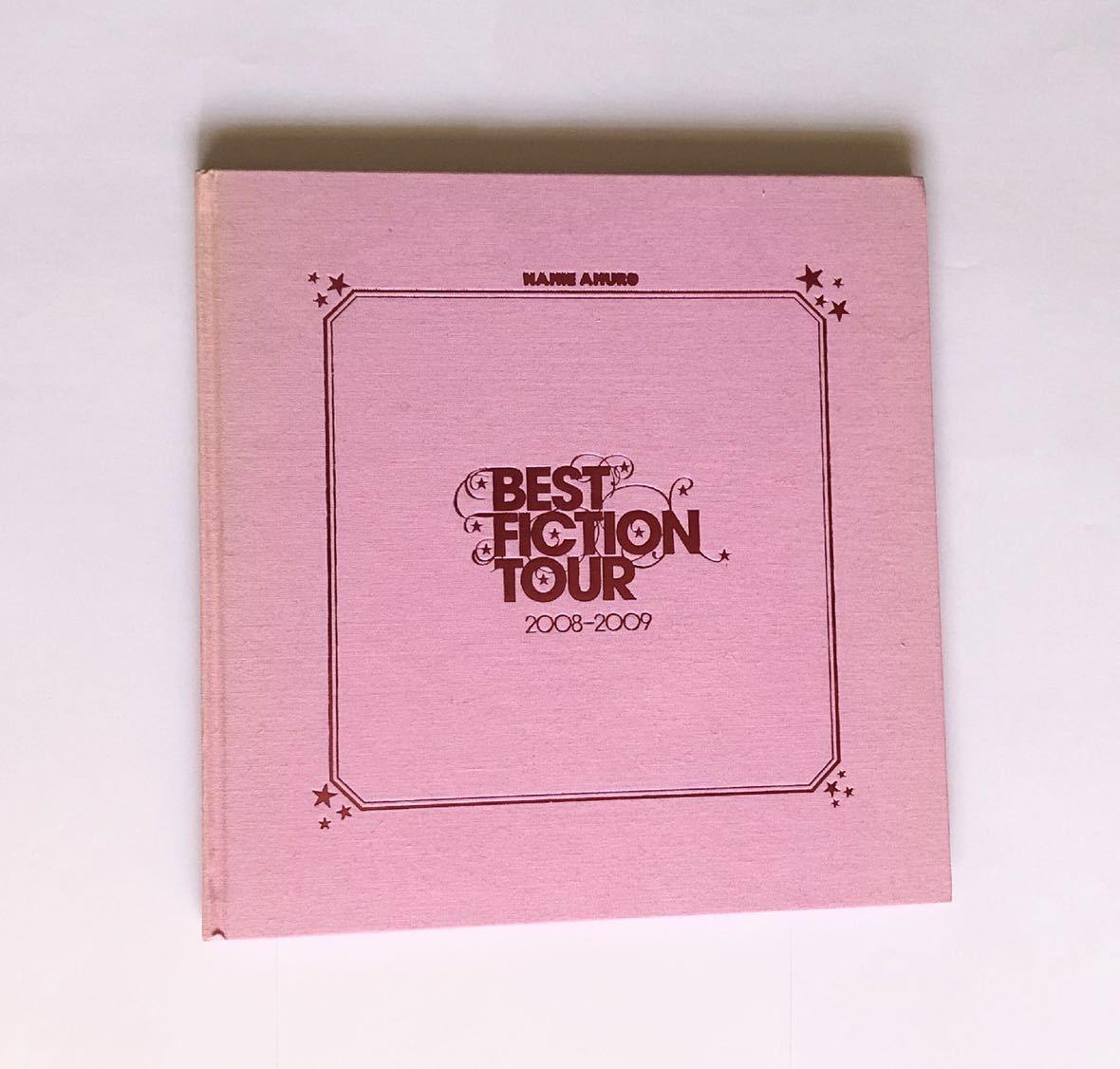 安室奈美恵 BEST FICTION TOUR 2008-2009 パンフレット 写真集 namie amuro 安室ちゃん パンフ ツアー
