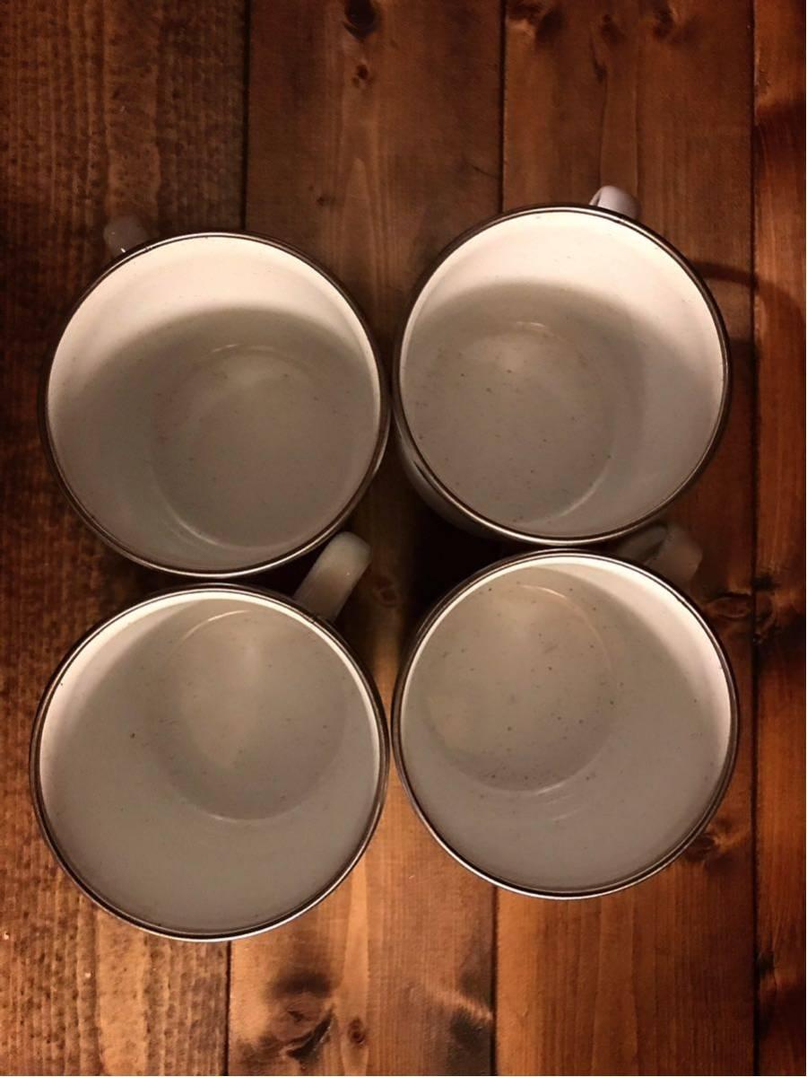 レア 美品 USAビンテージコールマンポットパーコレーター&マグカップ4個セットコールマン旧ロゴが素敵です!サンシャイン USA限定 箱付属_画像8