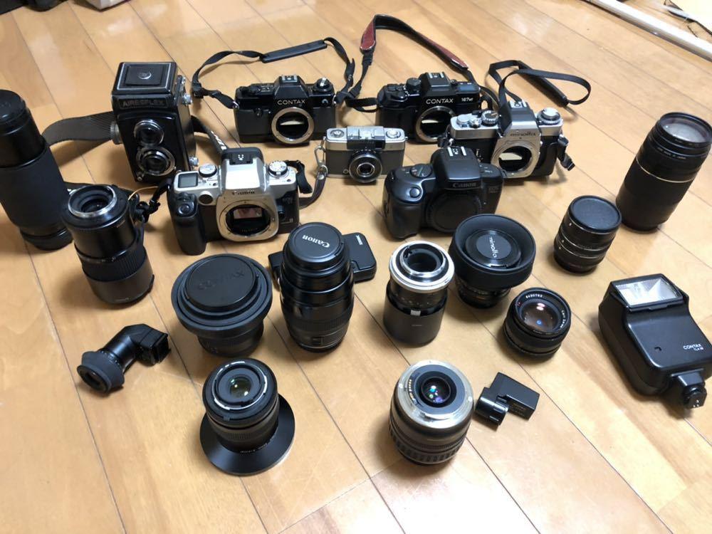 1円 アンティーク カメラ Canon ミノルタ MINOLTA レンズ コンタックス CANON minolta AIRESFLEX 送料無料 レア