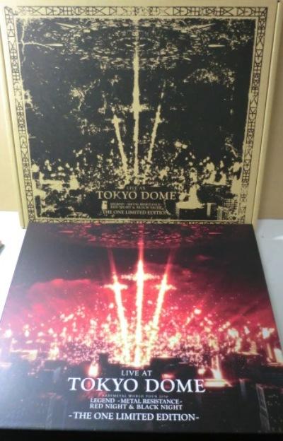 THE ONE限定BOX[日本BLU-RAY+CD]ベビーメタル/BABYMETAL - LIVE AT TOKYO DOME