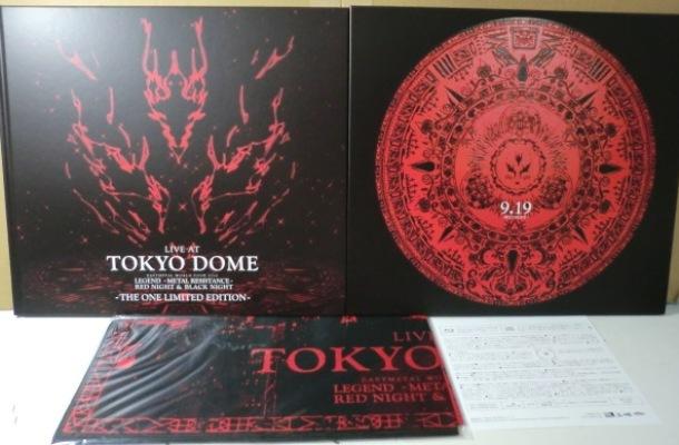 THE ONE限定BOX[日本BLU-RAY+CD]ベビーメタル/BABYMETAL - LIVE AT TOKYO DOME_画像2