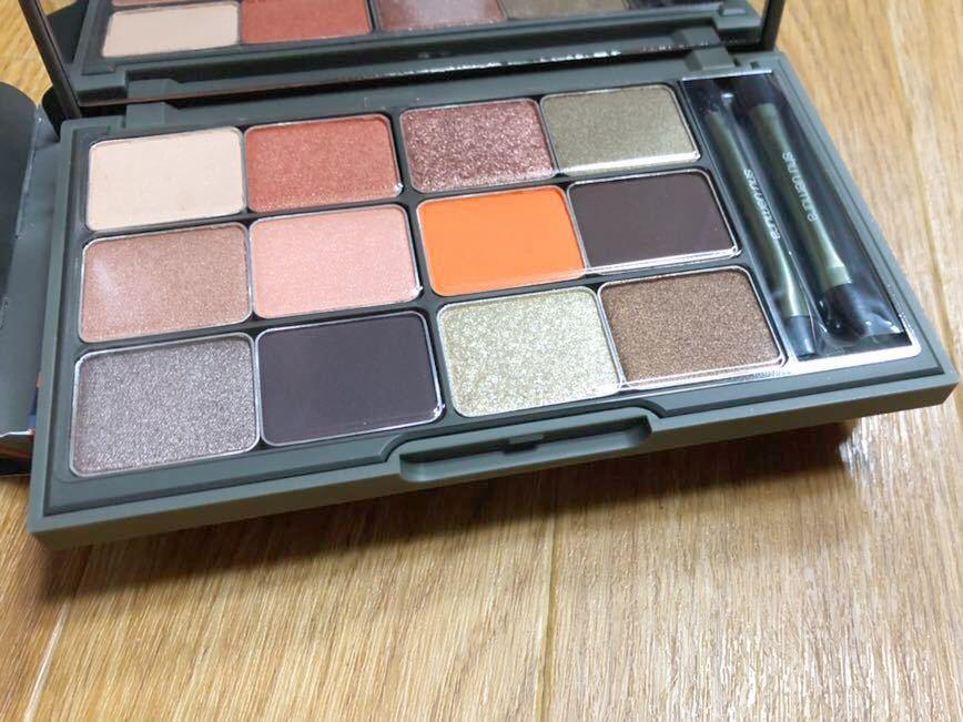 free shipping new goods Shu Uemura mezzo n fox duck eyeshadow Palette abroad limitation