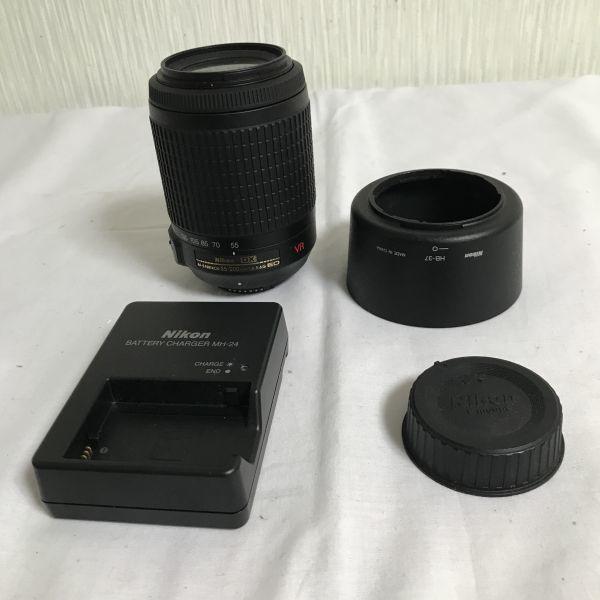 Nikon D3300 ダブルズームキット 18-55mm 55-200mm ニコン カメラバッグ付き 1円スタート_画像6