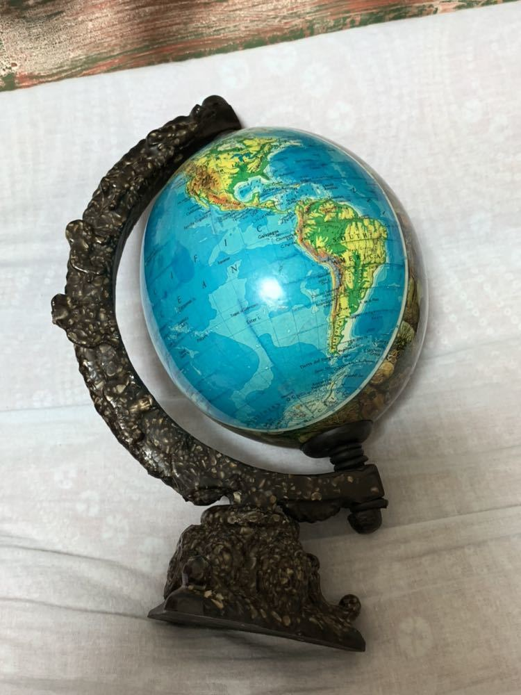 ◆アンティーク 地球儀◆4117_画像2