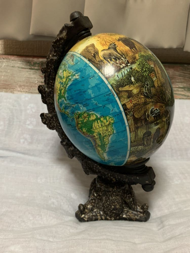 ◆アンティーク 地球儀◆4117_画像1