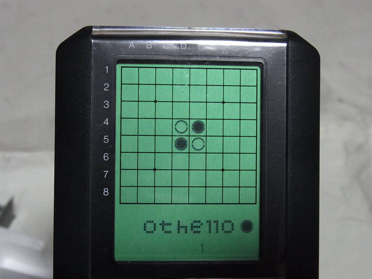 ツクダオリジナル COMPUTER Othelo G-5 コンピューターオセロ _画像4