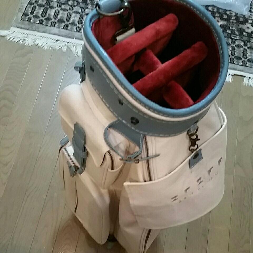 ONOFF オノフ オーガニックコットン キャディバッグ 小山キャディバッグ製作所オーダーヘッドカバー付き_画像3