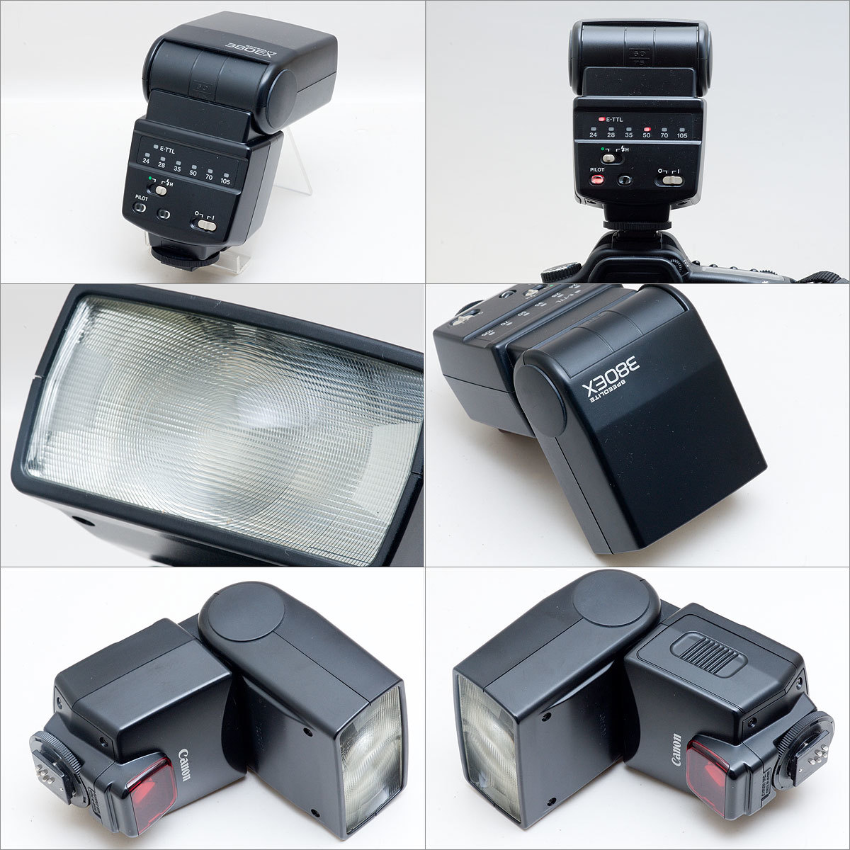 Canon SPEEDLITE 380EX デジタル・フィルム対応 動作OK (管理番号0803)_画像2