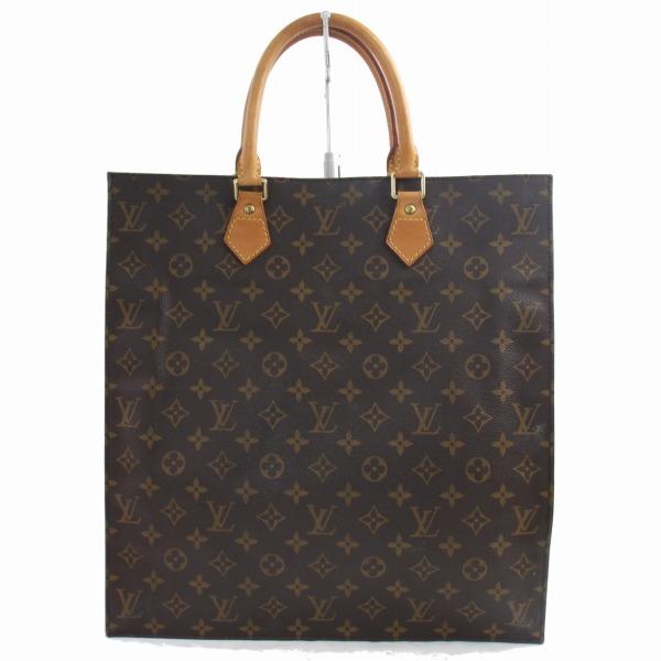 1円~ ルイヴィトン  LOUIS VUITTON モノグラム サックプラ ★ ハンドバッグ ビジネスバッグ 書類鞄 正規品 5083す