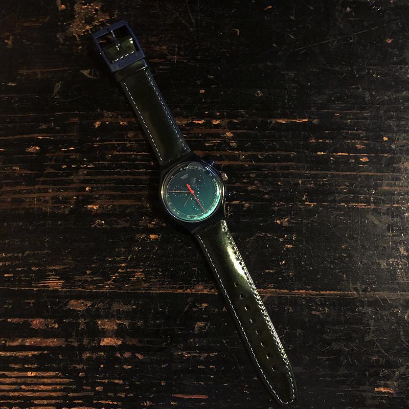 新品・未使用・腕時計・swatch・CHRONO・スウォッチ・クロノ・電池交換済み・デッドストック・1996・ケース付き_画像2