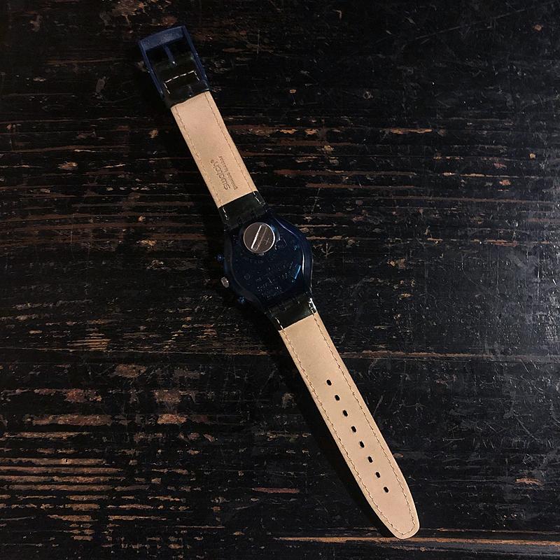 新品・未使用・腕時計・swatch・CHRONO・スウォッチ・クロノ・電池交換済み・デッドストック・1996・ケース付き_画像3
