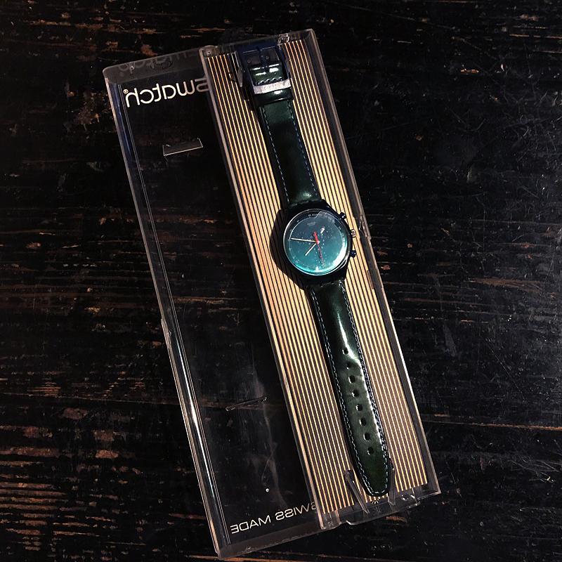 新品・未使用・腕時計・swatch・CHRONO・スウォッチ・クロノ・電池交換済み・デッドストック・1996・ケース付き_画像5