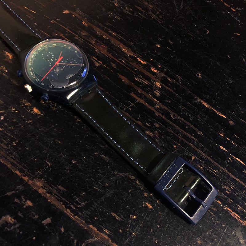 新品・未使用・腕時計・swatch・CHRONO・スウォッチ・クロノ・電池交換済み・デッドストック・1996・ケース付き_画像6