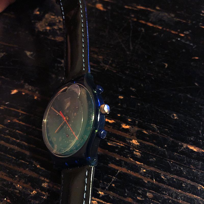 新品・未使用・腕時計・swatch・CHRONO・スウォッチ・クロノ・電池交換済み・デッドストック・1996・ケース付き_画像8