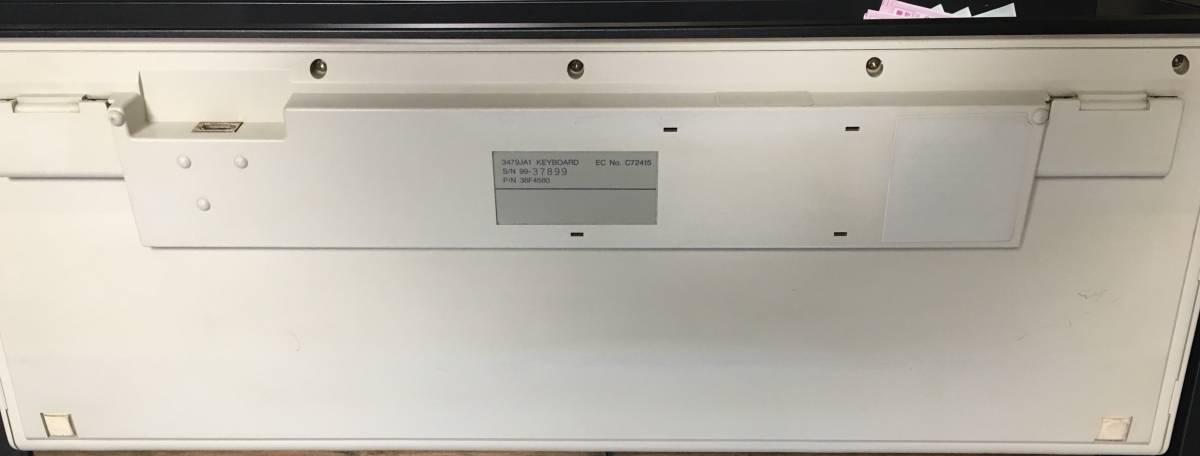 IBM 3479-JA1 P/N:38F4580 アルプス板ばね機械接点方式 メカニカル ジャンクで ケーブル付き_画像3
