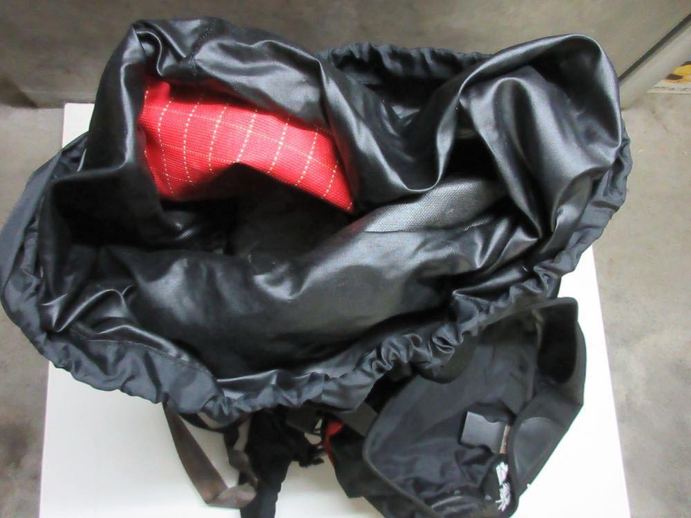 美品 MILLET yerupaja 50/55 ミレー バックパック 登山 リュック 赤 黒 大容量_画像5