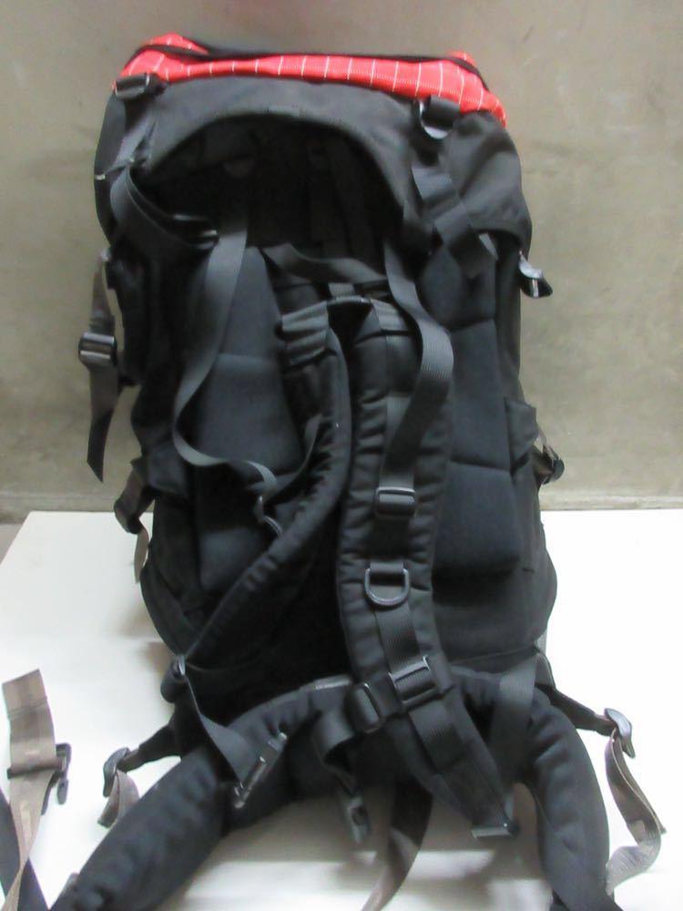 美品 MILLET yerupaja 50/55 ミレー バックパック 登山 リュック 赤 黒 大容量_画像4