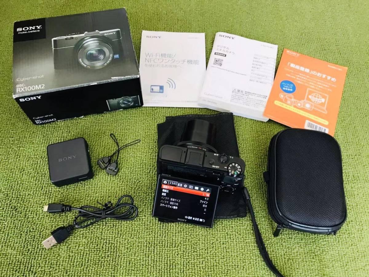 超美品! SONY ソニー Cyber-shot RX100M2 RX100Ⅱ デジタルカメラ_画像2