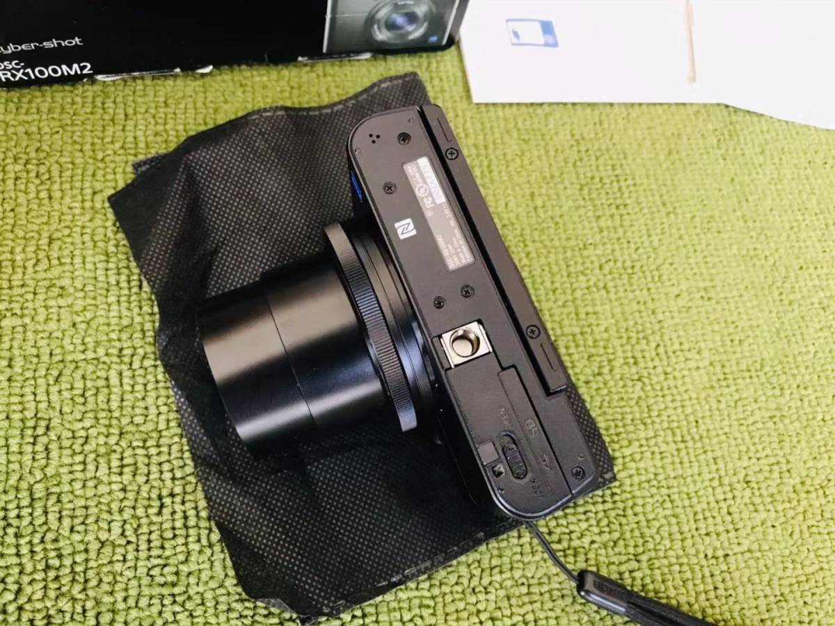 超美品! SONY ソニー Cyber-shot RX100M2 RX100Ⅱ デジタルカメラ_画像4