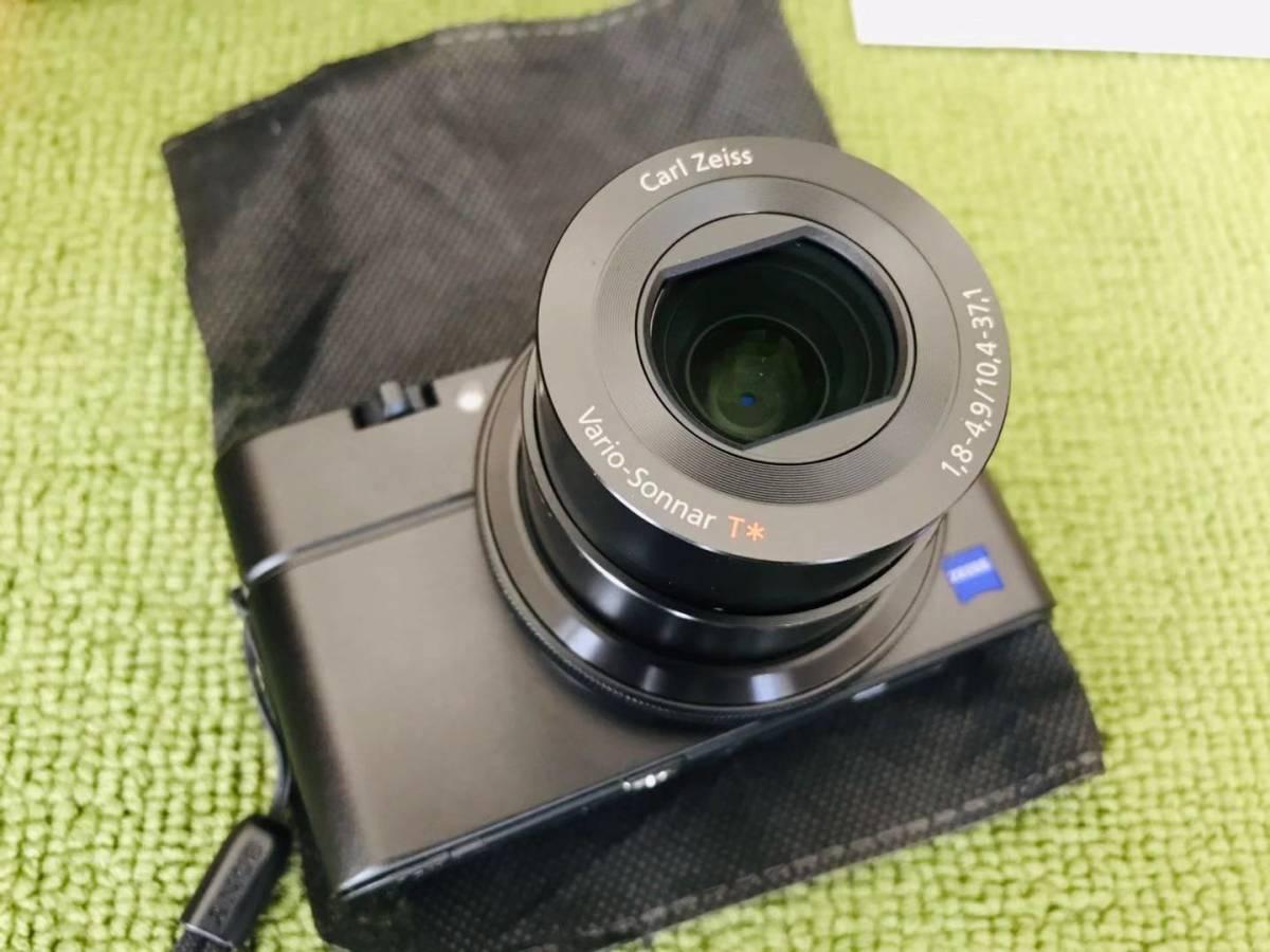 超美品! SONY ソニー Cyber-shot RX100M2 RX100Ⅱ デジタルカメラ_画像5