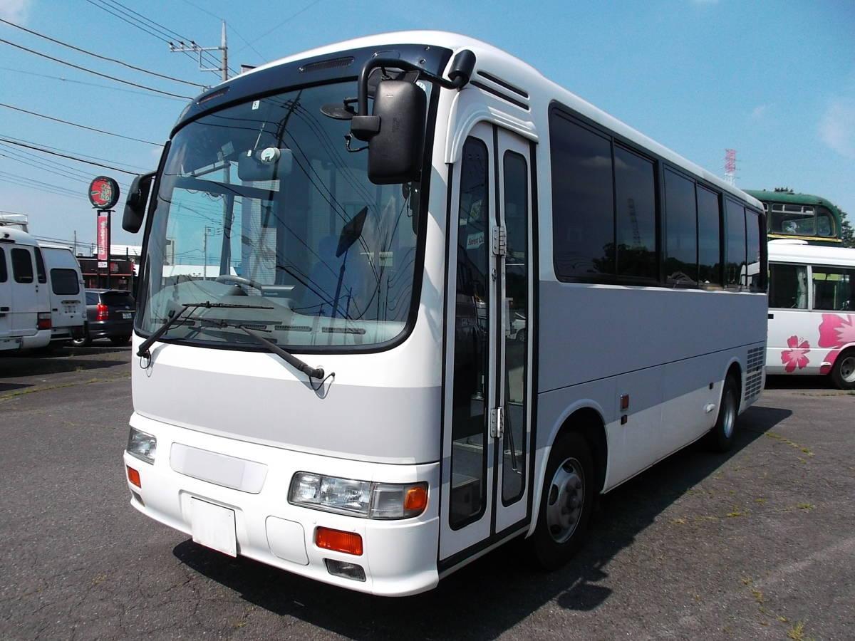 「★17年日野リエッセ ICターボ リアエンジンバス自動ドアNoxPM適合 」の画像1