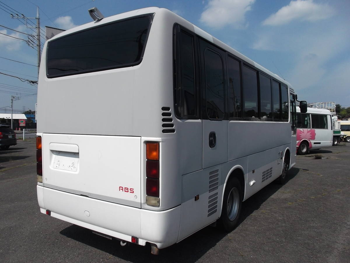 「★17年日野リエッセ ICターボ リアエンジンバス自動ドアNoxPM適合 」の画像3