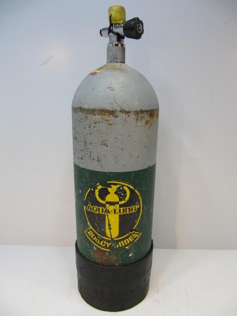 アクアラング AQUA-LUNG 200 CYLINDER クウキ 酸素ボンベ スキューバ ダイビング エアタンク 空気 タンク 海
