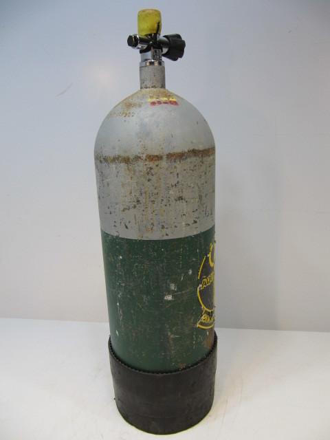 アクアラング AQUA-LUNG 200 CYLINDER クウキ 酸素ボンベ スキューバ ダイビング エアタンク 空気 タンク 海_画像4