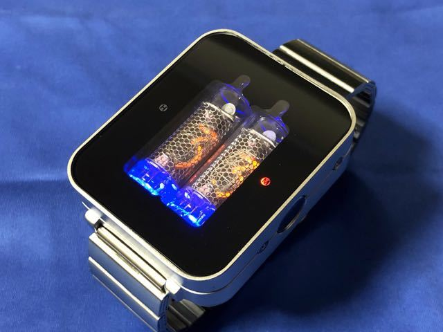 new styles 41989 70a86 【レア物】ニキシー管時計/Seahope Nixie Tube Watch/NXSVM シルバー