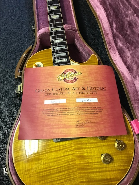 Gibson Custom Shop Les Paul 1959 _画像6