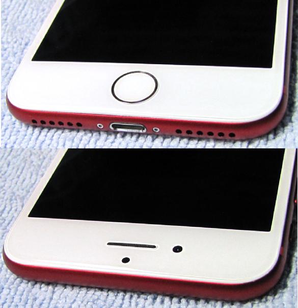 傷なし 新品同様 SIMフリー 化済 Apple iPhone7 128GB レッド SoftBank版 SIMロック解除済 バッテリ99% 格安SIM iphone 7 スピード発送_画像5
