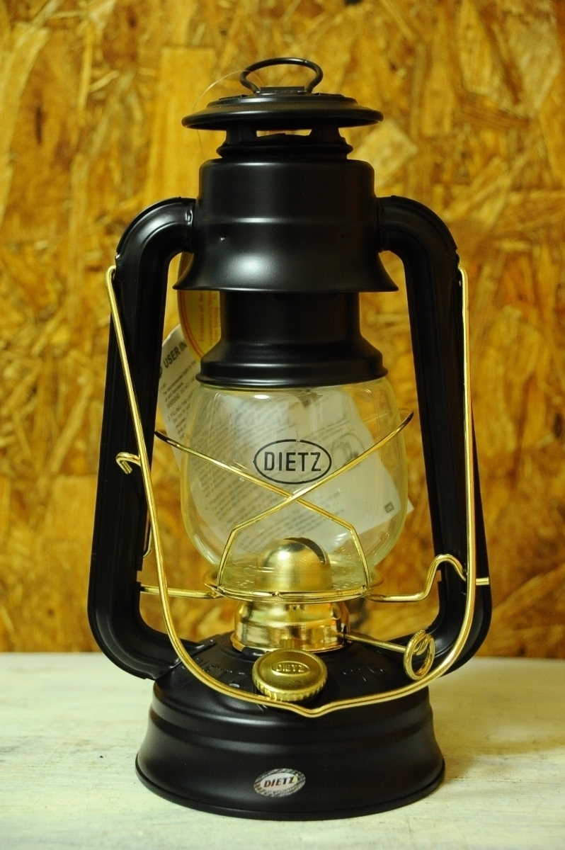 新品1円~ DIETZ No.76 Lantern Black & Gold / デイツ オイル ケロシン ランタン ペトロマックス hl1