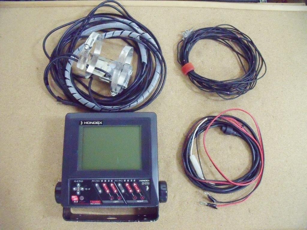 「HONDEX ホンデックス 本多電子 魚群探知機 HE-5700 中古品」の画像1