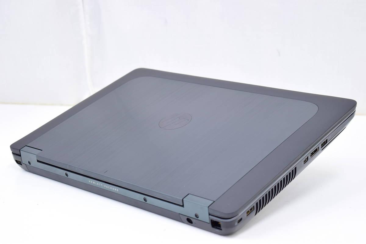 【即配】モンスターPC!15.6型1920x1080FHD!ZBook 15 i7-4810MQ メモリ16GB SSD256GB K2100M-2G Office Win10_画像3