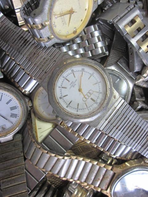 ★ジャンク クオーツ メンズ レディース 腕時計 約6.4キロ分 まとめ売り 国産&スイス製_画像7