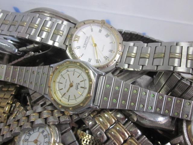 ★ジャンク クオーツ メンズ レディース 腕時計 約6.4キロ分 まとめ売り 国産&スイス製_画像4