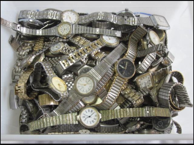 ★ジャンク クオーツ メンズ レディース 腕時計 約6.4キロ分 まとめ売り 国産&スイス製