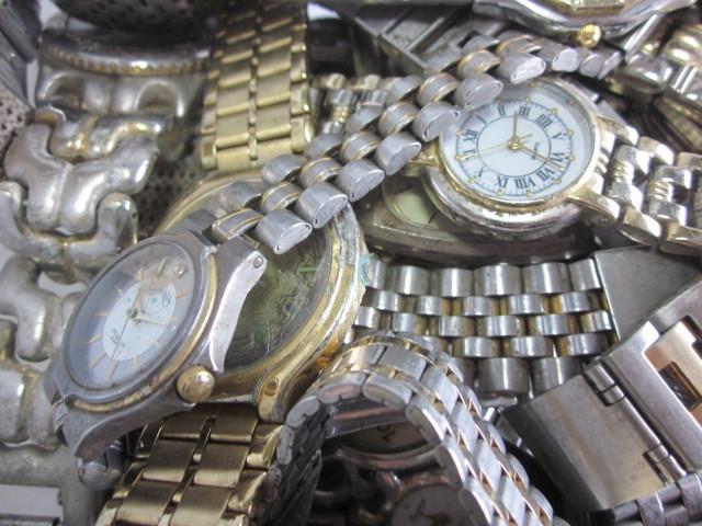 ★ジャンク クオーツ メンズ レディース 腕時計 約6.4キロ分 まとめ売り 国産&スイス製_画像5