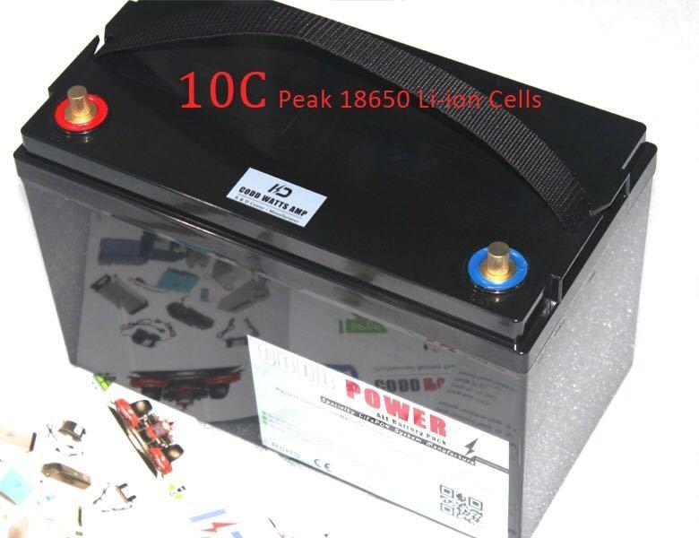 24V60Ahリチウムイオンバッテリー エレクトリックモーター電源_画像4