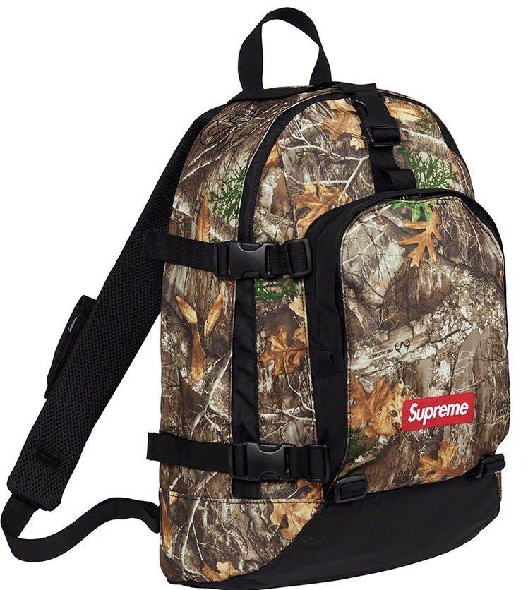 【送料込 ステッカー付】国内正規店購入 19FW Supreme backpack バックパック camo カモ 迷彩 BOX logo シュプリーム ボックス_画像1