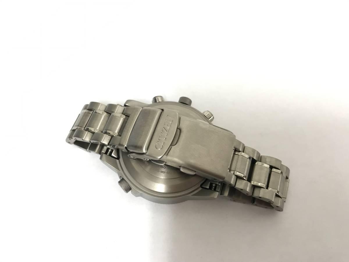 1円~CITIZEN シチズン プロマスター SKY U680-T016677 PMV65-2271 エコドライブ 電波ソーラー_画像5