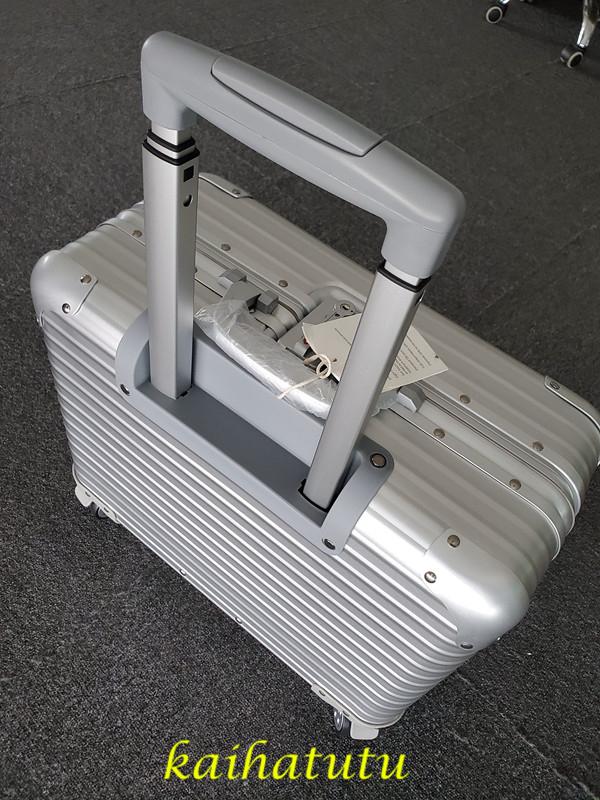 最高品質!※EU基準※アルミニウム合金100%・軽量/静音・TSAロック搭載スーツケース・キャリーケース※機内持ち込可 /18インチ_画像3