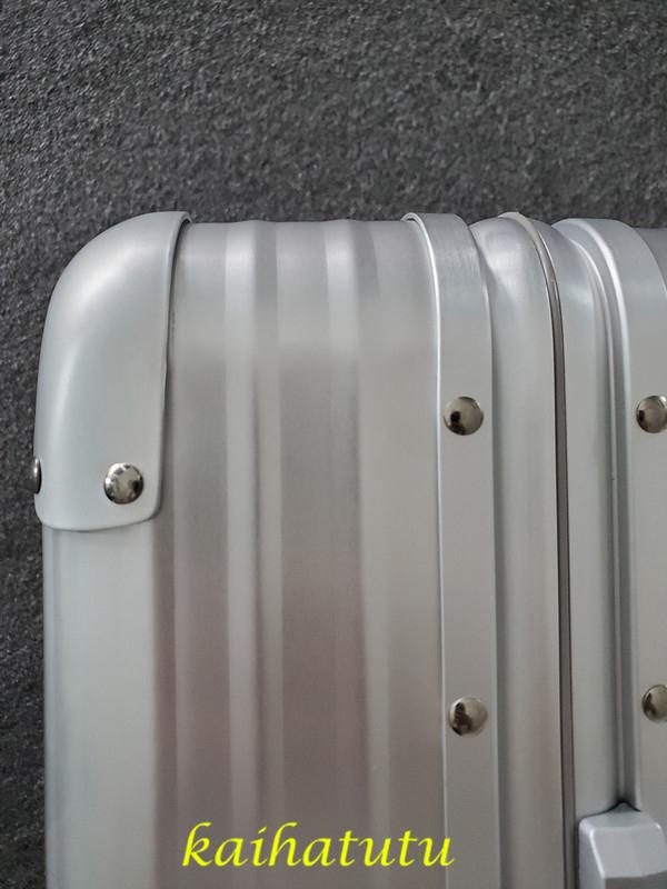 最高品質!※EU基準※アルミニウム合金100%・軽量/静音・TSAロック搭載スーツケース・キャリーケース※機内持ち込可 /18インチ_画像9