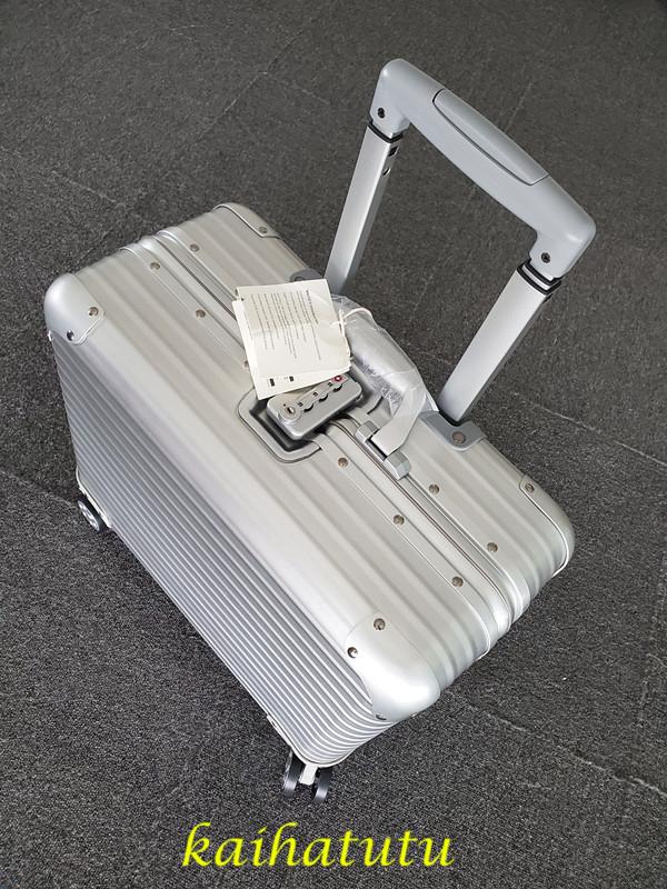 最高品質!※EU基準※アルミニウム合金100%・軽量/静音・TSAロック搭載スーツケース・キャリーケース※機内持ち込可 /18インチ_画像2