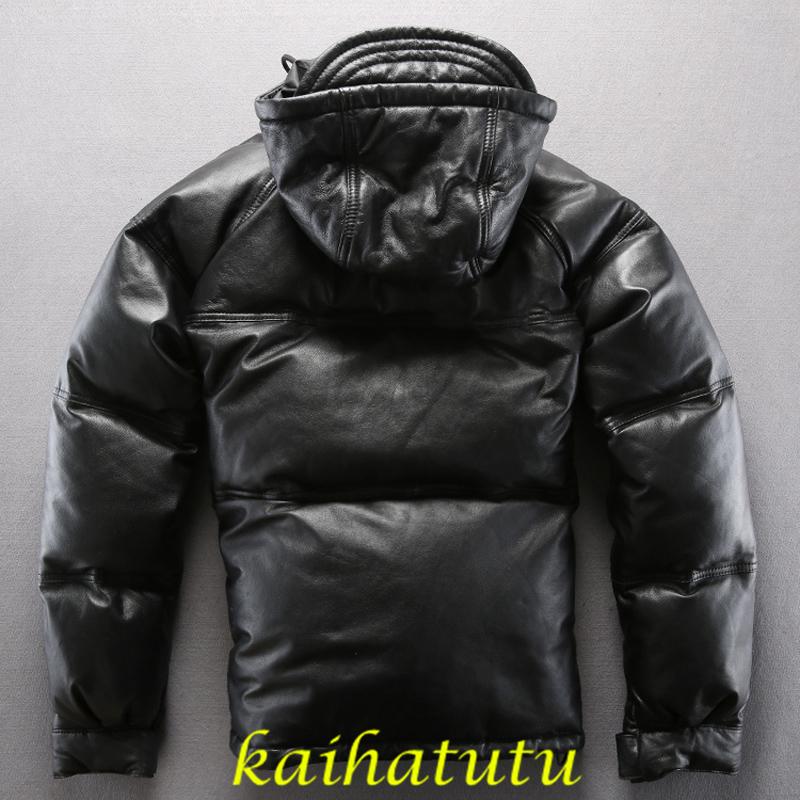 防寒性抜群 北欧 ワントップ 羽毛500g ダウンジャケット_画像2