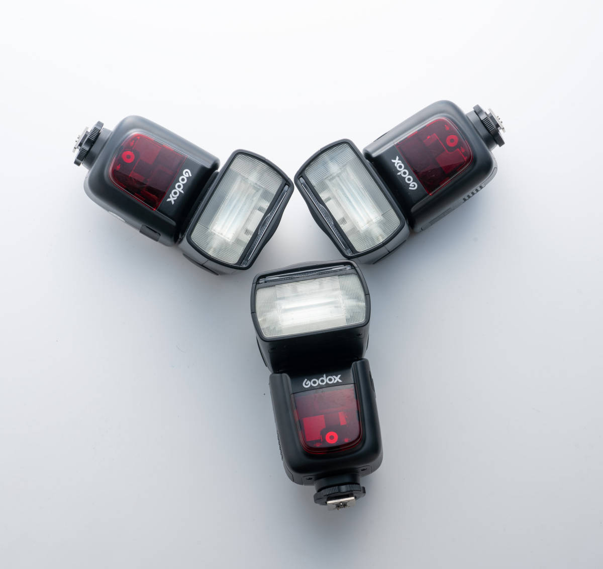GODOX ストロボ V860ⅡF 3灯セット + GODOX コマンダー X-Pro F 予備バッテリー VB18 2個付き 富士フイルム用_画像2