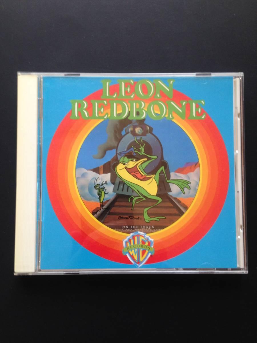 【中古CD】レオン・レッドボーン『オン・ザ・トラック』日本盤・帯付 LEON REDBONE / ON THE TRACK