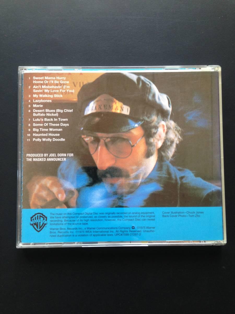 【中古CD】レオン・レッドボーン『オン・ザ・トラック』日本盤・帯付 LEON REDBONE / ON THE TRACK_画像2