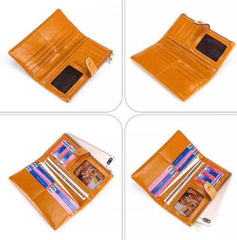 19A057長財布 財布 レディース 本革 レザー 実物写真 人気 素敵 気質よい 通勤 出張 旅行 高級感 _画像3